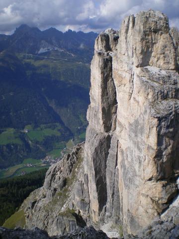 Im Klettersteig der Elferspitze 2505m